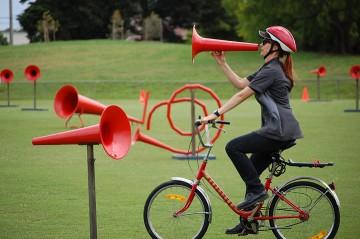 Yarraville West Primary megaphones